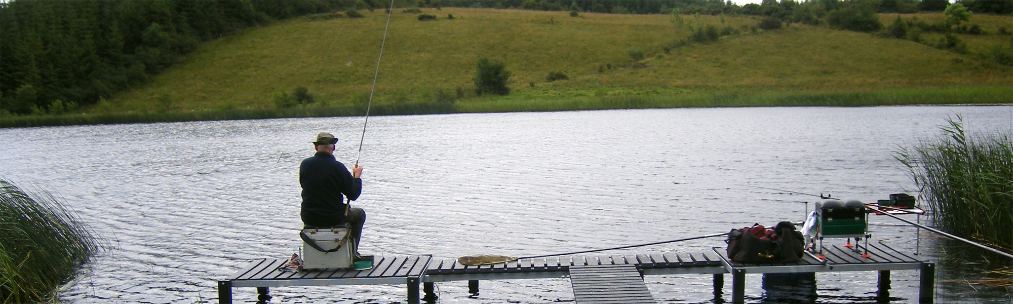 Fishing in Ireland with FIsh Tracker Angling Guide